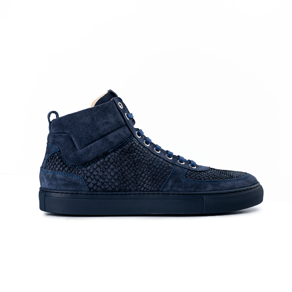 8016 High Top - Salmon Blue