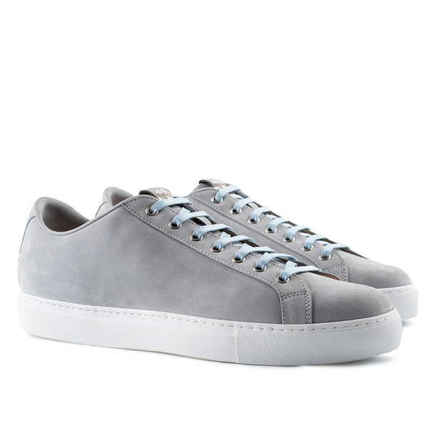 8011 Low Top Sneaker - Grey Nubuck